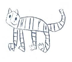 Jouw kunst aan de muur - tijger