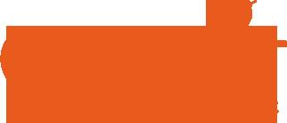 Connect logopedie beeldmerk woordmerk oranje