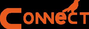 Connect logopedie logo beeldmerk woordmerk oranje