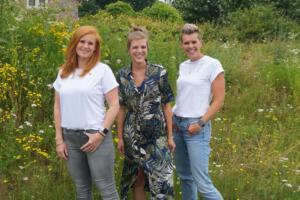 Team Connect prelogopedie Ellen, Dieta, Jannine (Inge ontbreekt)